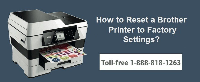 Reset Brother Printer to Factory Settings